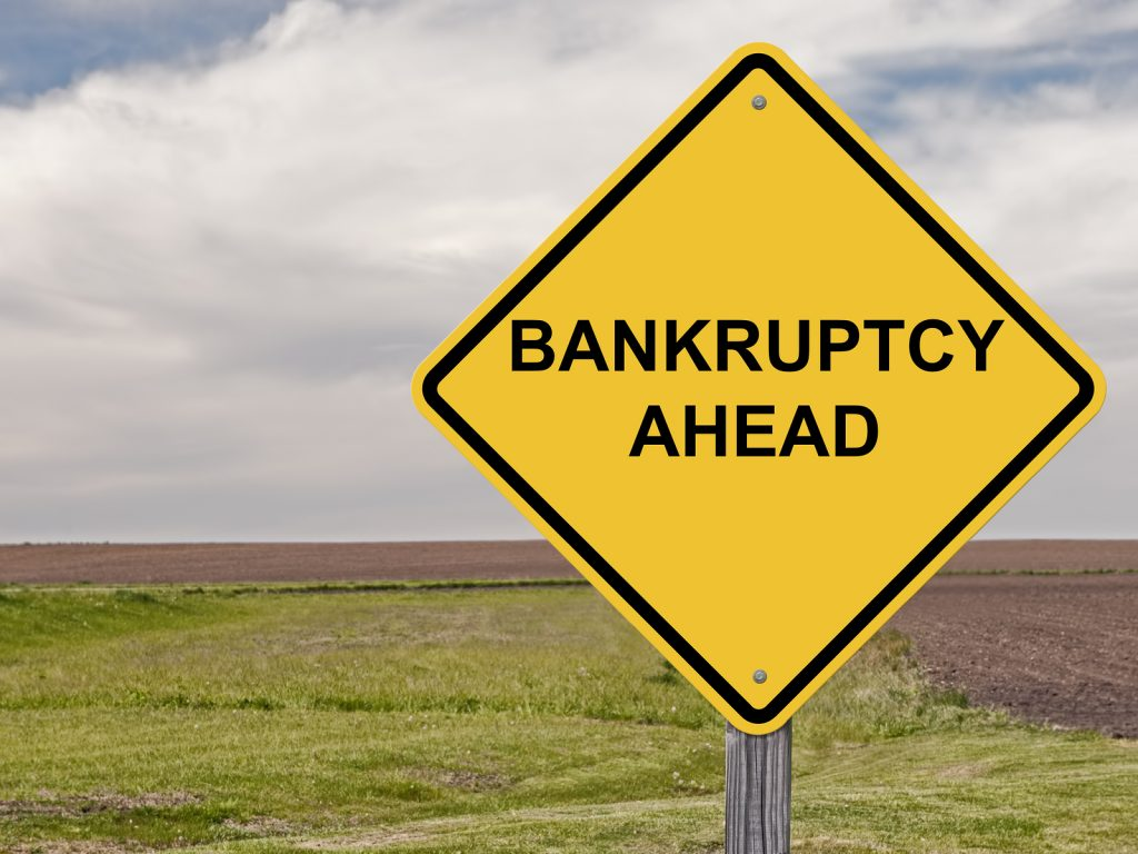 Caution - Bankruptcy Ahead